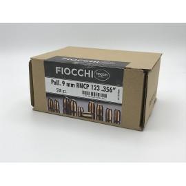 """Fiocchi 9mm RNCP 123gr 356"""" INT'L 1000pz"""